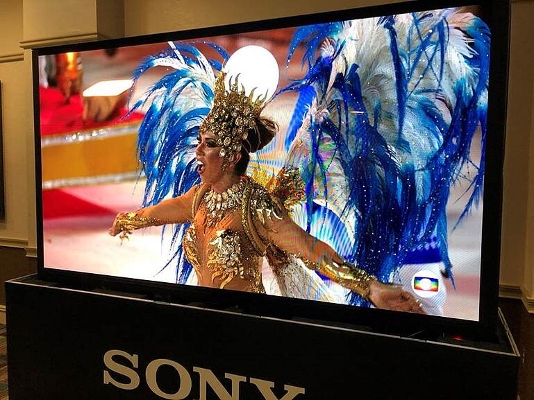 The Sony Crystal LED display, which creates powerful, super-size images, was exhibited for the first time in North Carolina at Fusion 2019.